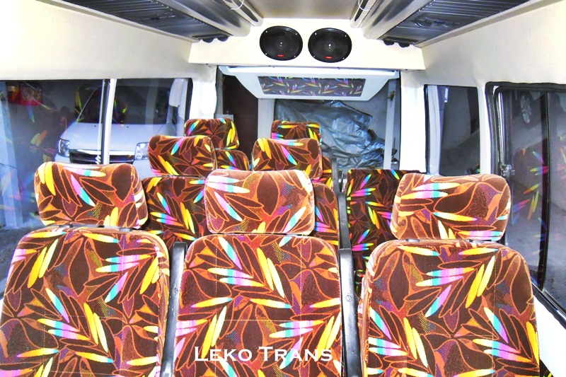 isuzu elf 15 seats interior